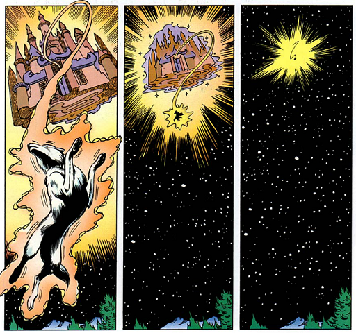 REFERENCE : MAGIC IN ELFQUEST P156_ReintegratingEvenAnUnwillingHighOne_PalacePower