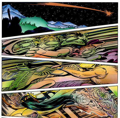 REFERENCE : MAGIC IN ELFQUEST P157_ExtremeVelocityTravel_PalacePower
