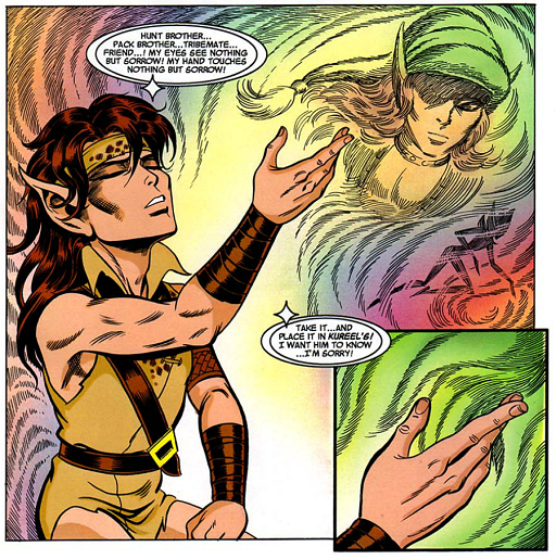 REFERENCE : MAGIC IN ELFQUEST P158_EmotionTransfer_SpiritMagic