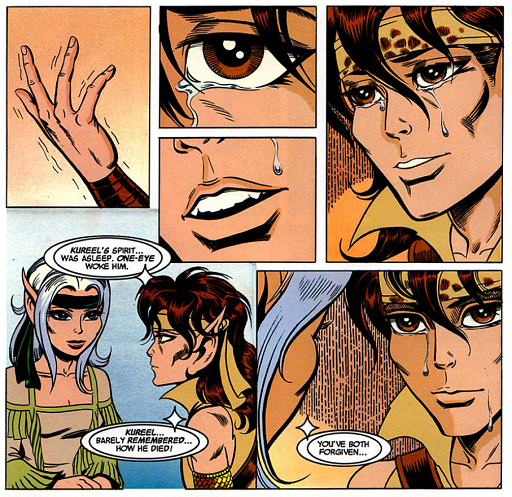 REFERENCE : MAGIC IN ELFQUEST P159_EmotionTransferConfirmed_SpiritMagic_KureelBarelyRemembered