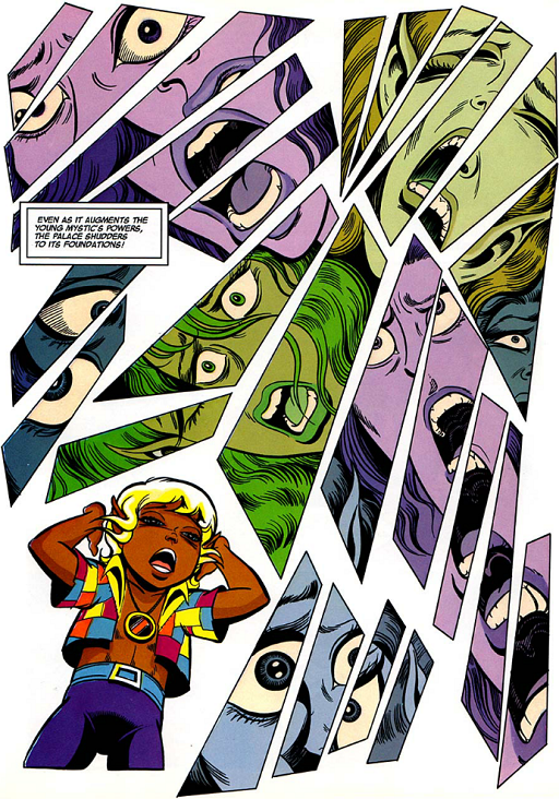 REFERENCE : MAGIC IN ELFQUEST P165_SendingTheCryOut_InsideThePalace