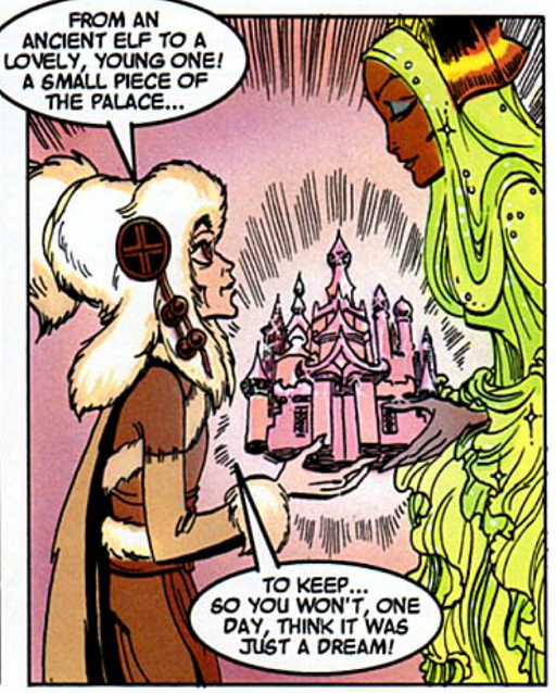 REFERENCE : MAGIC IN ELFQUEST P166_RockShaping_Palace_SeparatingAPieceOfThePalace