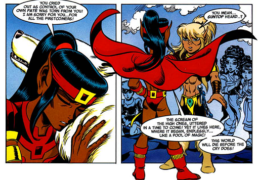 REFERENCE : MAGIC IN ELFQUEST P173_MagicFeeling_Extreme_HearingCryBeyondTime
