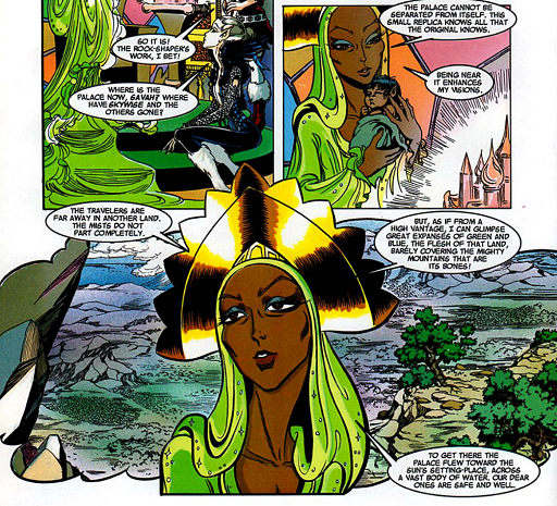 REFERENCE : MAGIC IN ELFQUEST P175_LinkWithLittlePalace