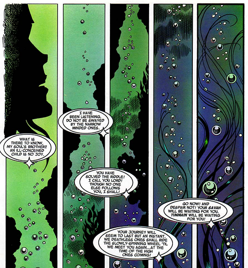 REFERENCE : MAGIC IN ELFQUEST P176_MindLinkingFromAfar_WaterBreathing_SoSoonAfterHerExile