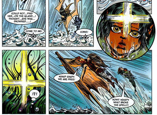 REFERENCE : MAGIC IN ELFQUEST P179_MentalShield