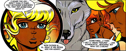 REFERENCE : MAGIC IN ELFQUEST P187_EscapingMindLinkAndSendings