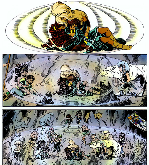 REFERENCE : MAGIC IN ELFQUEST P192_Healing_AtDistance_PowerOfLove