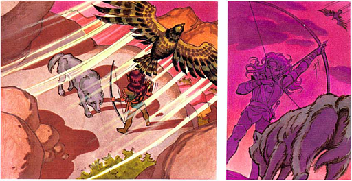 REFERENCE : MAGIC IN ELFQUEST P194_Premonition_NotEvenWatching