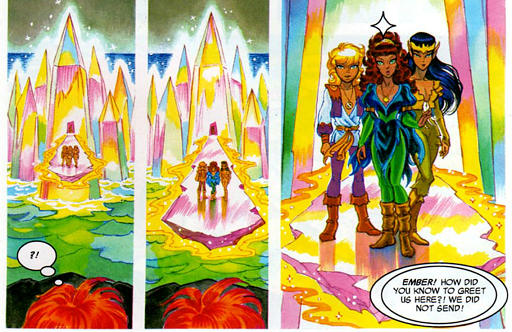 REFERENCE : MAGIC IN ELFQUEST P196_RockShaping_Bridge_PalacePower