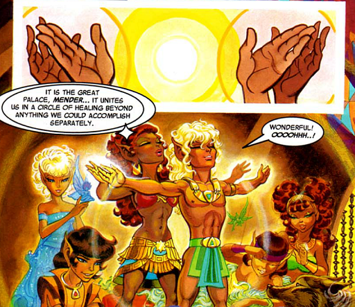 REFERENCE : MAGIC IN ELFQUEST P199_Healing_CombinedPowersAndPalace
