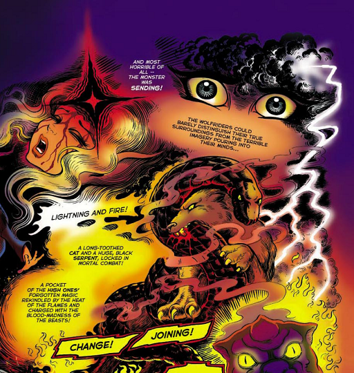 REFERENCE : MAGIC IN ELFQUEST P19_MagicBornMonster_CombinationOfPowers