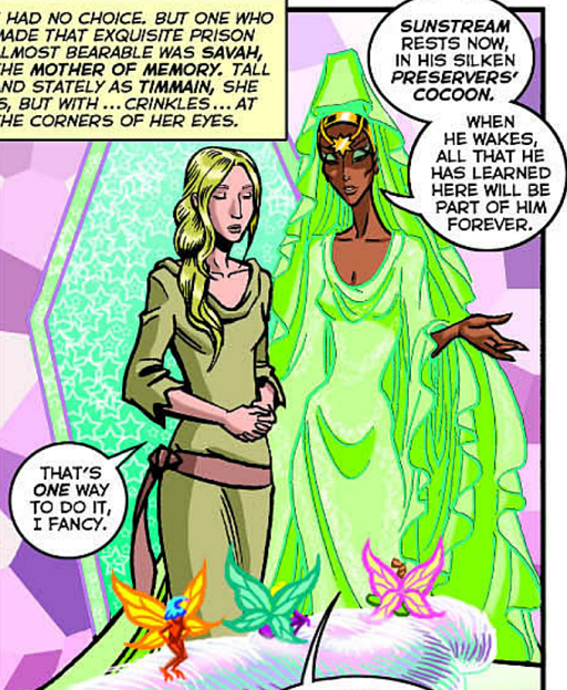 REFERENCE : MAGIC IN ELFQUEST P207_PreserverCocoon_ToLearnFromThePalace