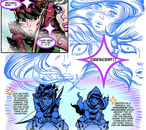 REFERENCE : MAGIC IN ELFQUEST P208_DeadElfSpiritCalling