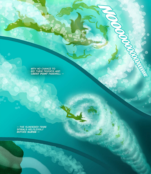 REFERENCE : MAGIC IN ELFQUEST P215_HugeSpiralingWaterSurge