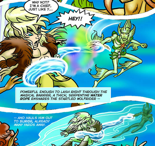 REFERENCE : MAGIC IN ELFQUEST P216_WaterRope