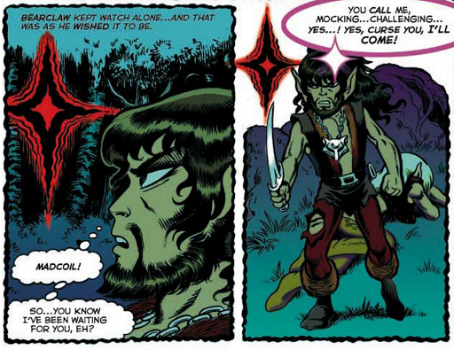 REFERENCE : MAGIC IN ELFQUEST P21_Sending_SpecialCall_ByMonster