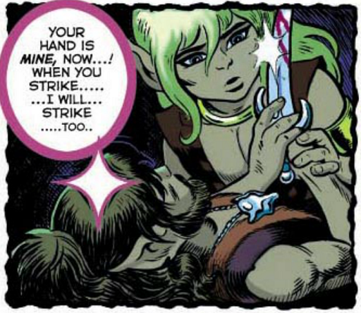 REFERENCE : MAGIC IN ELFQUEST P22_ProbableWatchingOver