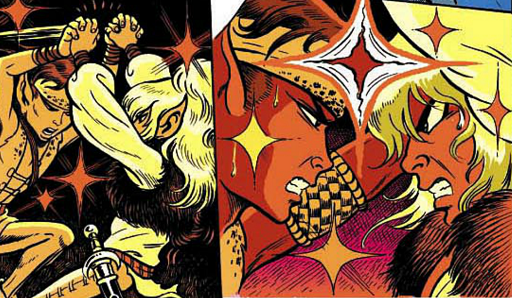 REFERENCE : MAGIC IN ELFQUEST P32_Sending_LockSend_Challenge