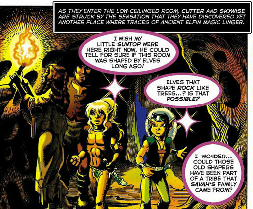 REFERENCE : MAGIC IN ELFQUEST P35_MagicFeeling_Faint2