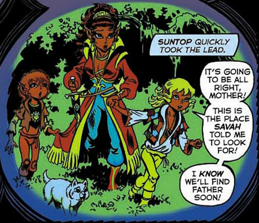 REFERENCE : MAGIC IN ELFQUEST P42_PossiblePremonition