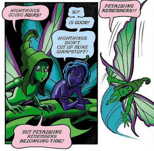 REFERENCE : MAGIC IN ELFQUEST P44_MagicallyCreatedSpecies