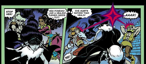 REFERENCE : MAGIC IN ELFQUEST P52_Sending_MultiTargetDarkSend_LeetahsRemark