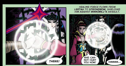 REFERENCE : MAGIC IN ELFQUEST P55_Healing_ImprovisedShield