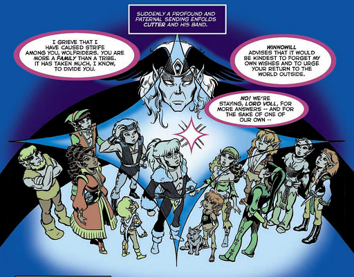 REFERENCE : MAGIC IN ELFQUEST P63_Sending_DeepSending