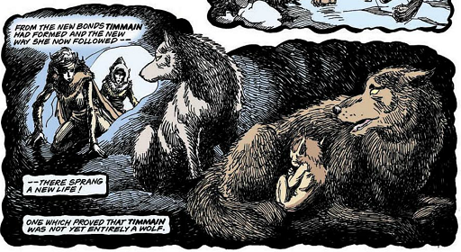 REFERENCE : MAGIC IN ELFQUEST P71_CompleteSelfShaping_Animal_HighOne_INTER-BREEDING