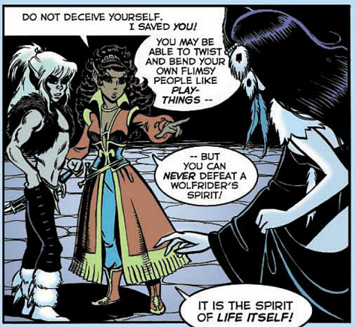 REFERENCE : MAGIC IN ELFQUEST P72_ProbableMindManipulation