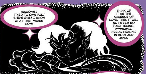 REFERENCE : MAGIC IN ELFQUEST P79_GoingOut_MindTouch