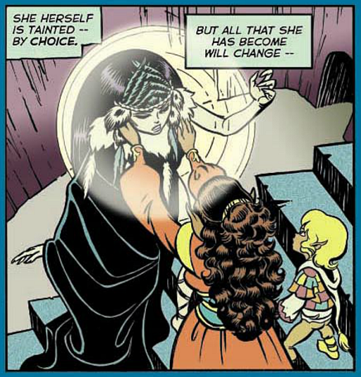 REFERENCE : MAGIC IN ELFQUEST P80_MentalHealing