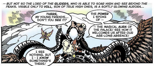 REFERENCE : MAGIC IN ELFQUEST P83_MagicAura_MagicVisualDetection