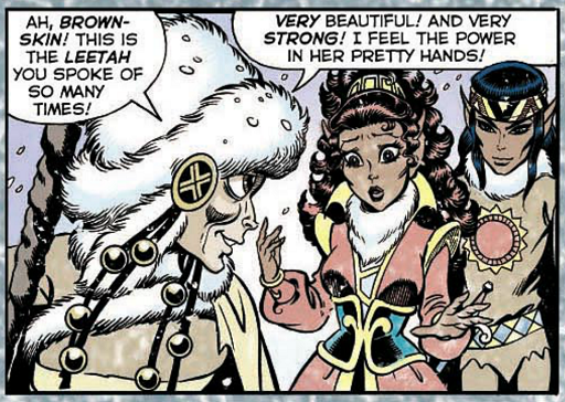 REFERENCE : MAGIC IN ELFQUEST P86_MagicFeeling