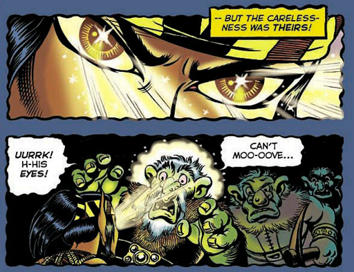 REFERENCE : MAGIC IN ELFQUEST P87_HypnoticTrance_OnTroll