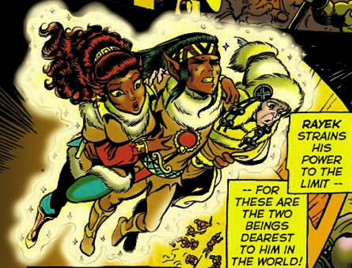 REFERENCE : MAGIC IN ELFQUEST P94_Gliding_HeavyCharge