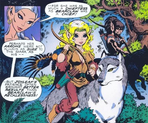 Ladies of Elfquest PC129_JoyleafOrigScene1