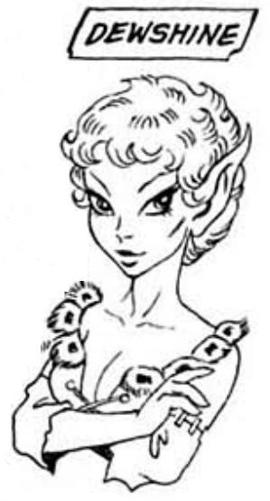 Ladies of Elfquest DEWSHINE