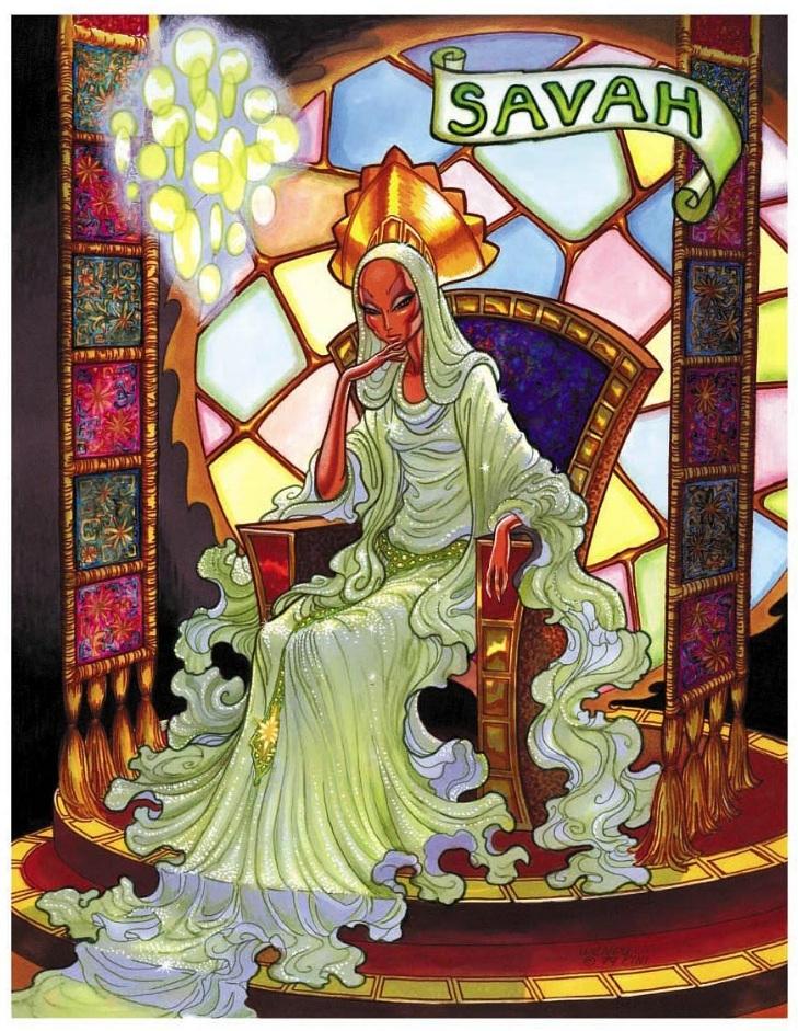 Ladies of Elfquest SAVAH