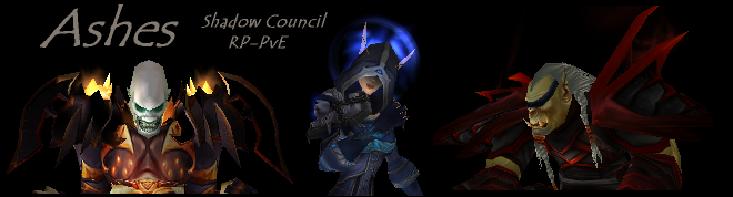 Ashes - a Shadow Council RP guild.