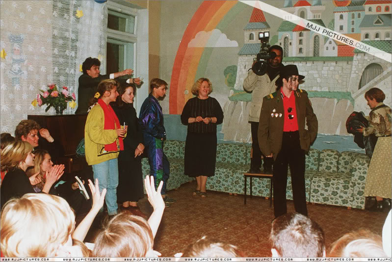 Michael Visits An Orphanage In Moscow 001-44