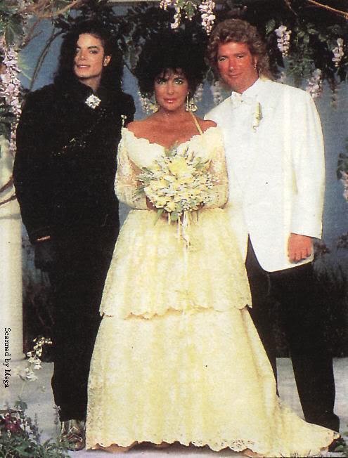 1991- Elizabeth Taylor Wedding at Neverland 006-18