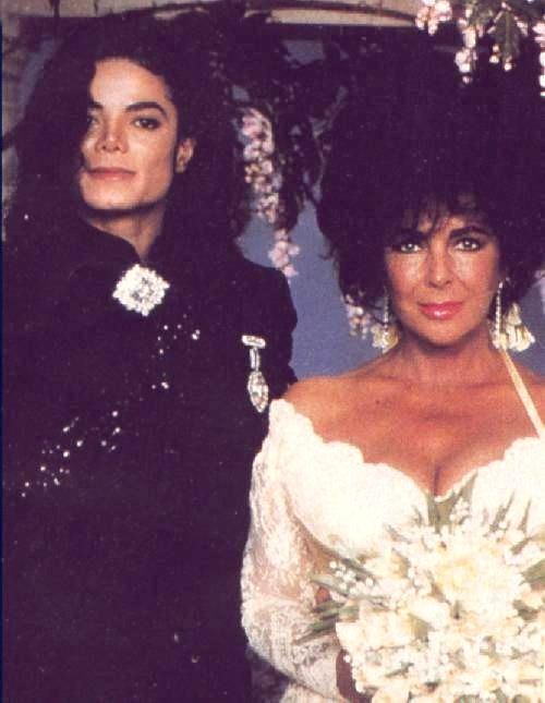 1991- Elizabeth Taylor Wedding at Neverland 007-18