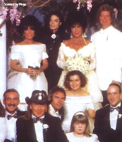 1991- Elizabeth Taylor Wedding at Neverland 008-17