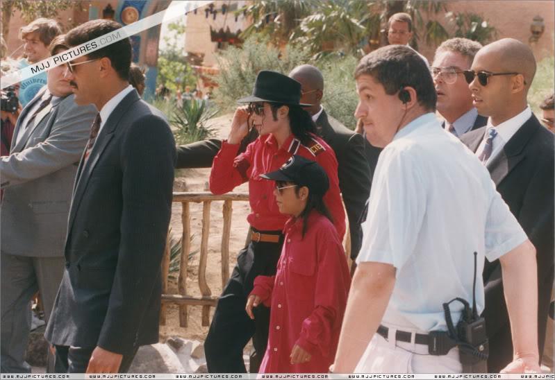 1992- Michael Visits Disneyland Paris 009-23