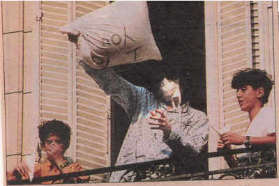 1993- Michael Visits Buenos Aires 019-19