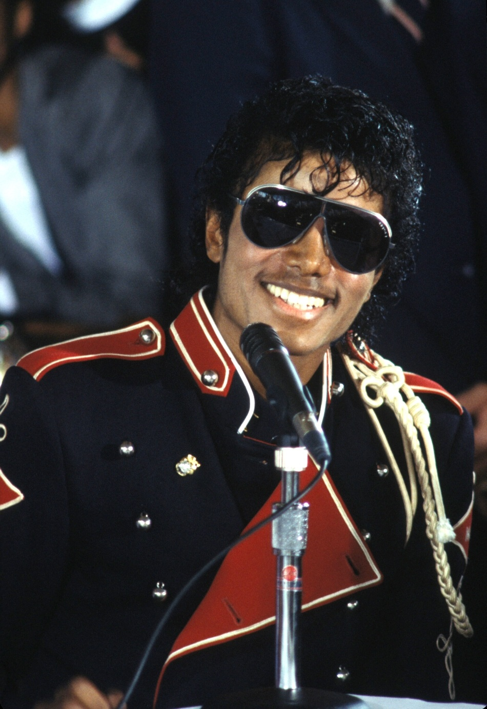 1983 Victory Tour Press Conference 8-20