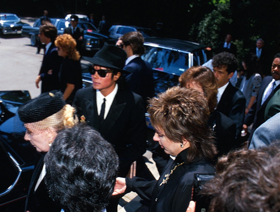 1986 Vincente Minnelli FuneralGroup 268