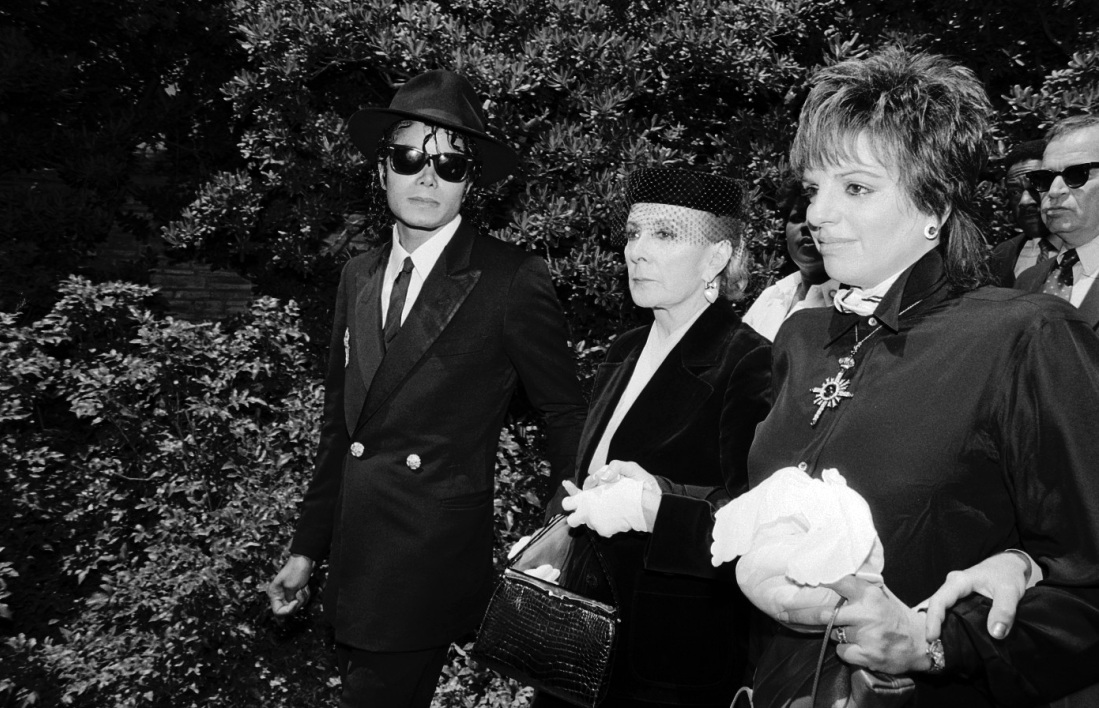 1986 Vincente Minnelli FuneralGroup 3-1